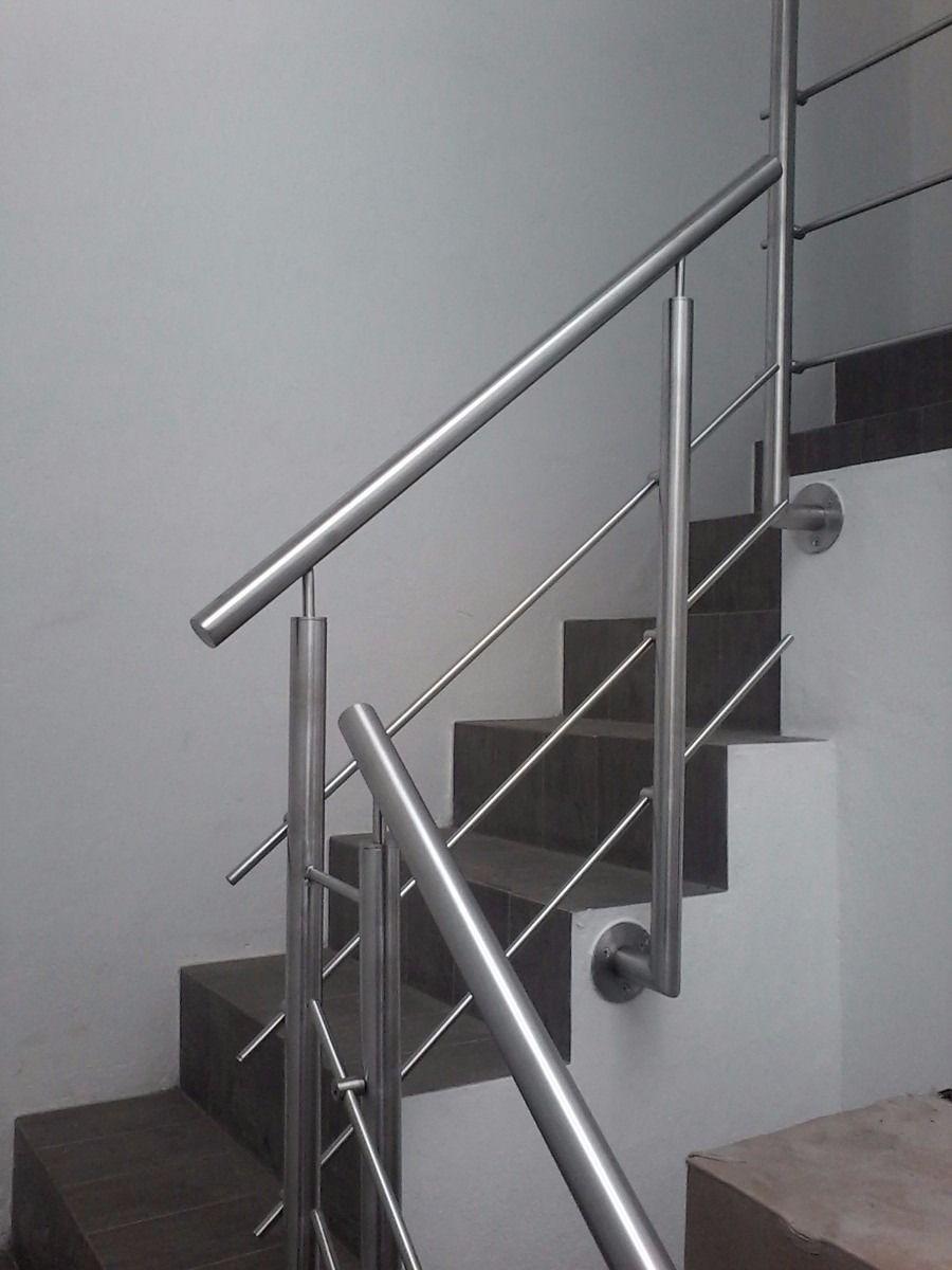 Barandal de acero inoxidable para escaleras 2 - Baranda de escalera ...