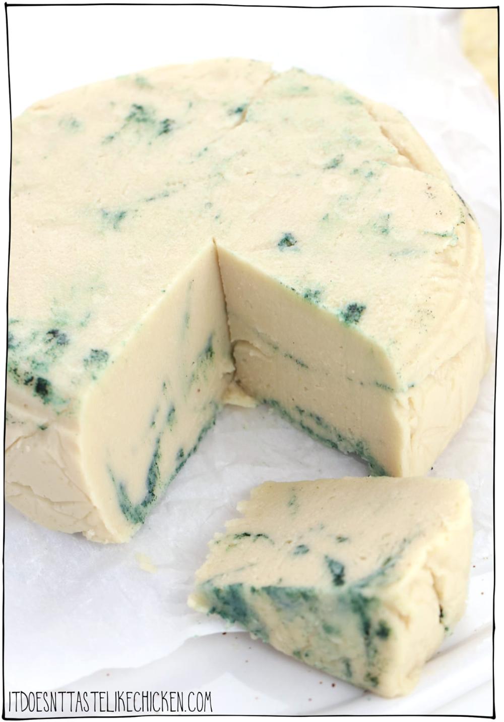 Easy Vegan Blue Cheese Recipe Recipe In 2020 Blue Cheese Recipes Cheese Recipes Vegan Blue Cheese Recipe