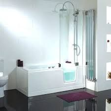 Walk In Tubs Cost Walk In Shower Cost Shower Tubs Cost To Replace Bathtub With   Ley Straker