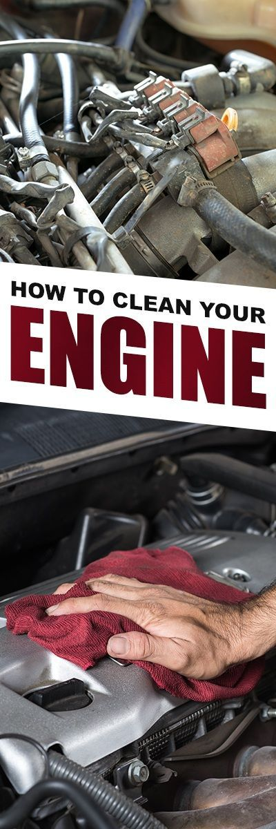 How To Clean An Engine Car Cleaning Car Cleaning Hacks Diy Car