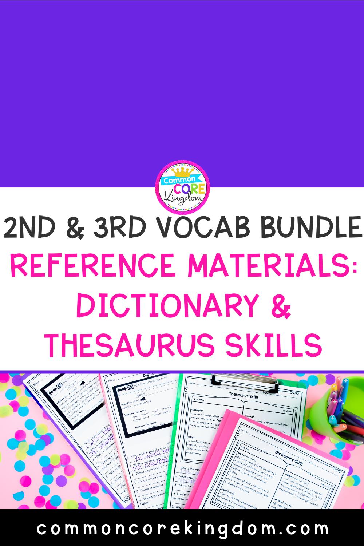 medium resolution of Reference Materials: Dictionary Skills and Thesaurus Skills   Dictionary  skills