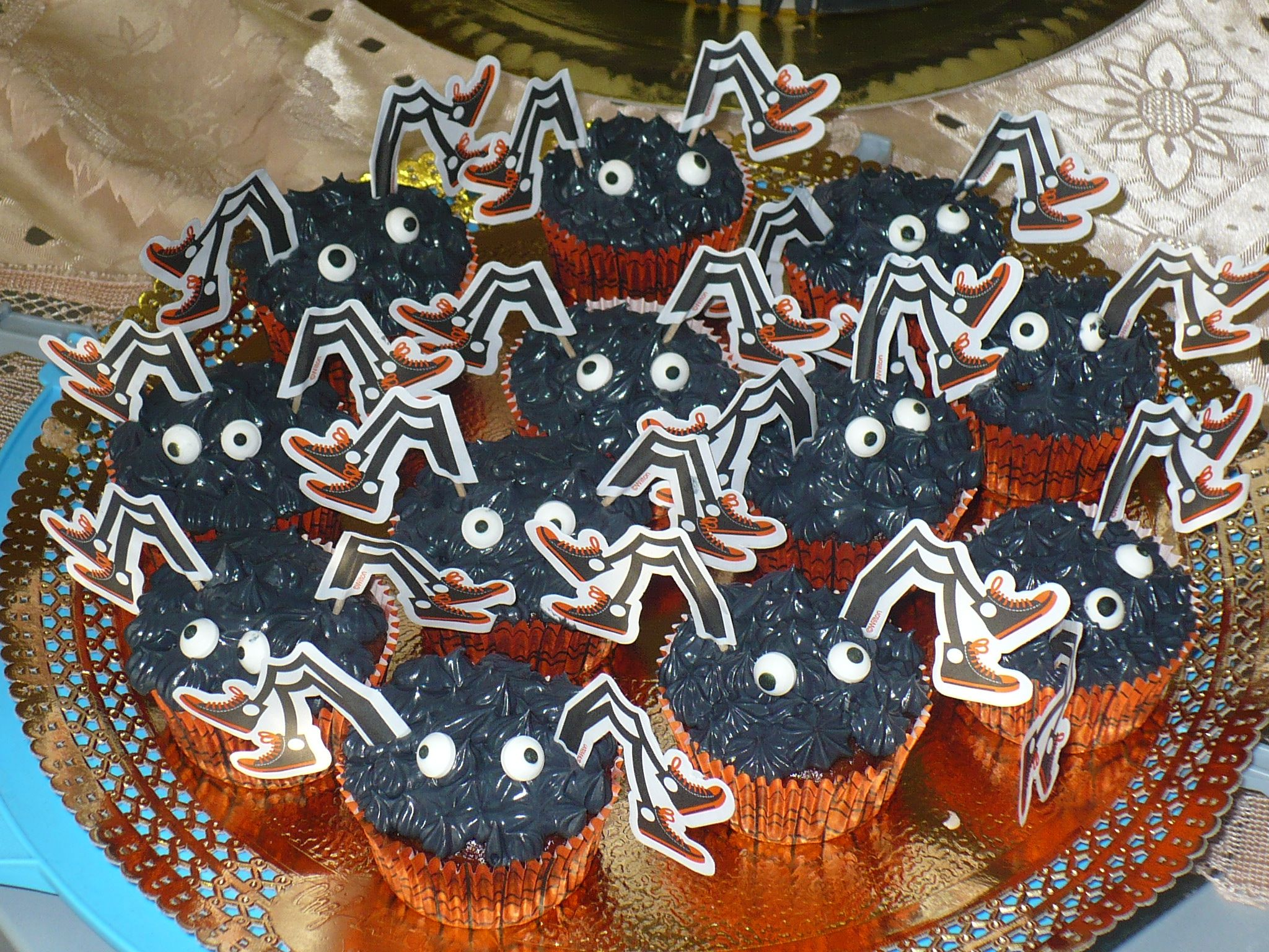 halloween cupcake!