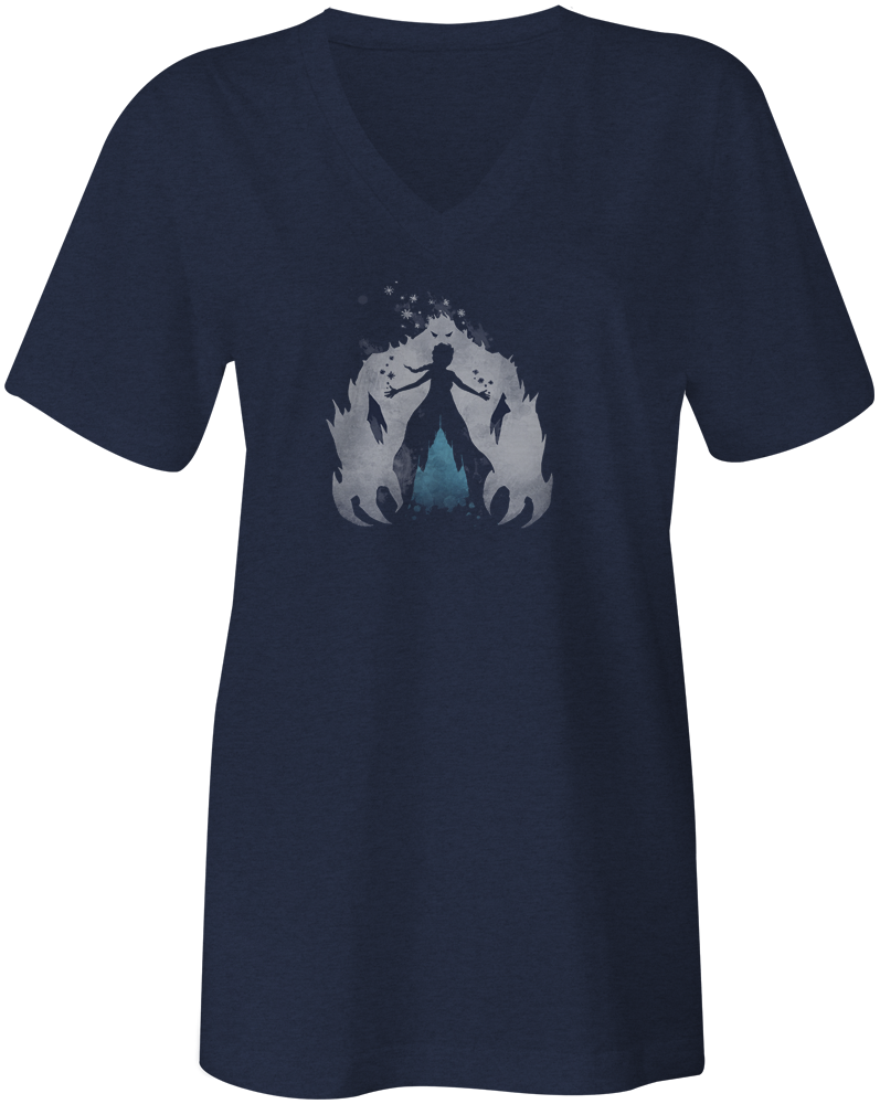 Ice Queen Women's V Tee