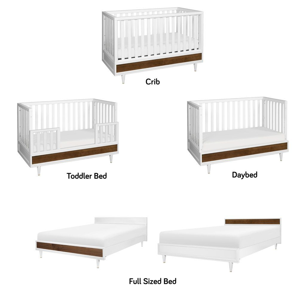 Full Size Bed Conversion Kit For Eero Crib Cribs Convertible