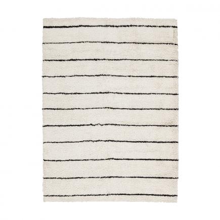 Natural & Black Austin Shag Carpet