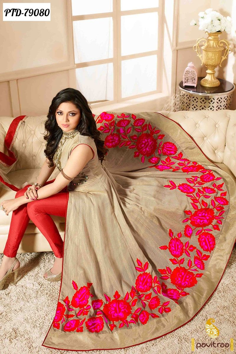 Tv Serial Celebrity Drashti Dhami Special Anarkali Salwar Suits ...