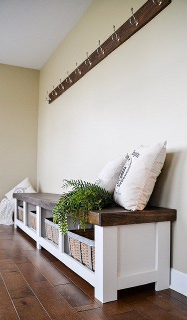 Entryway Bench Crate And Barrel