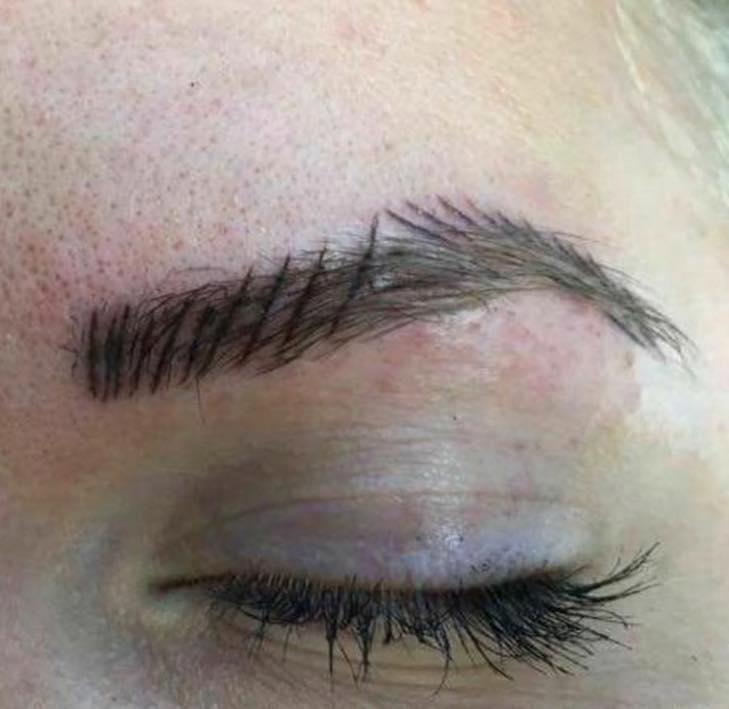 Viral post highlights the reality of going to a REALLY bad eyebrow salon | Bad eyebrows, Eyebrow ...