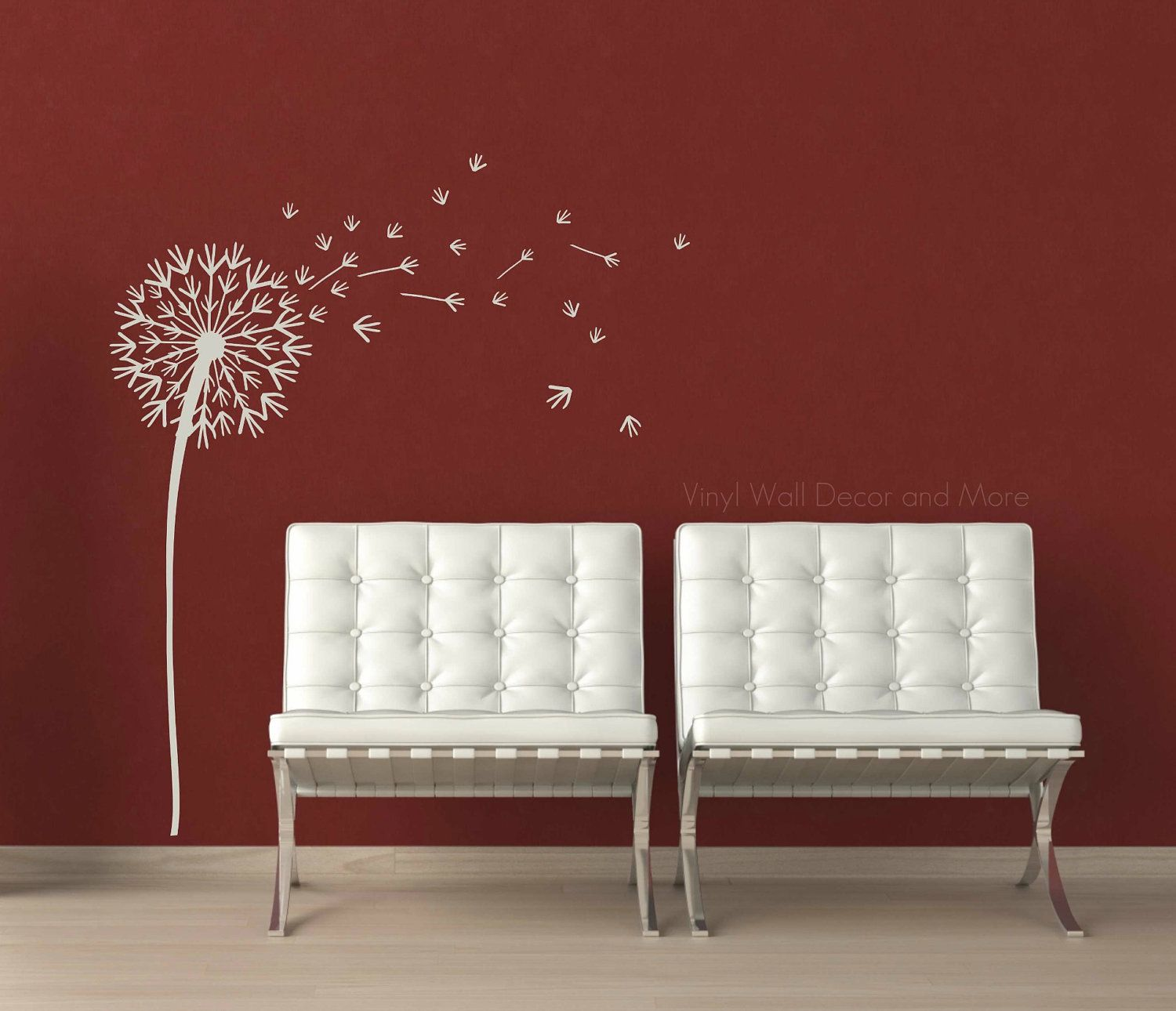 Charming Dandelion Wall Decal