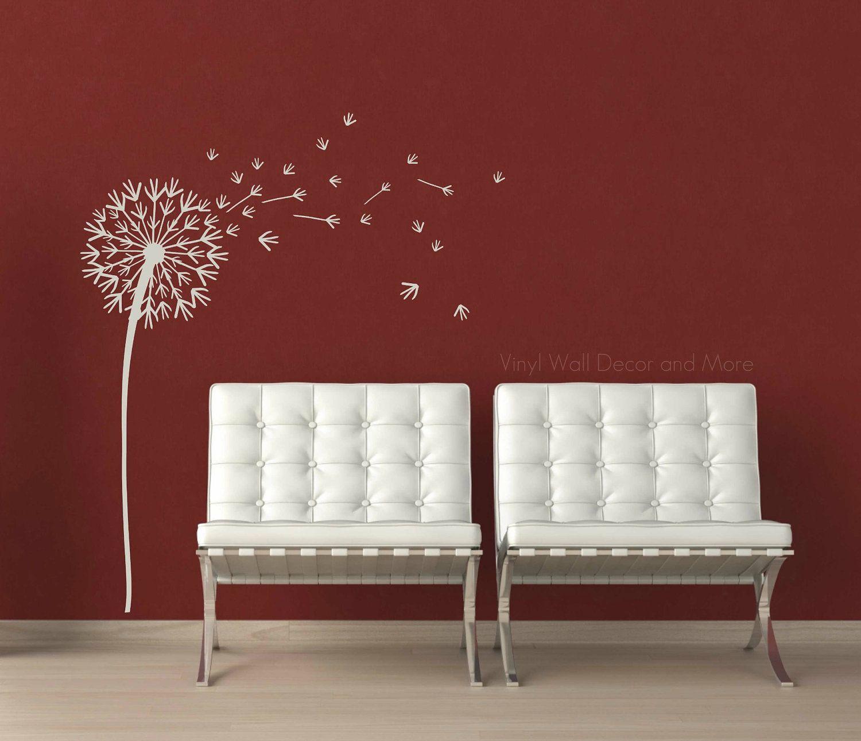 Attractive Dandelion Wall Decal