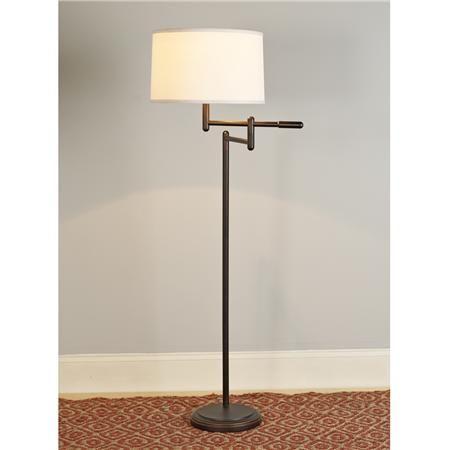 Tiller Swing Arm Floor Lamp | Swing arm floor lamp, Floor lamp and ...