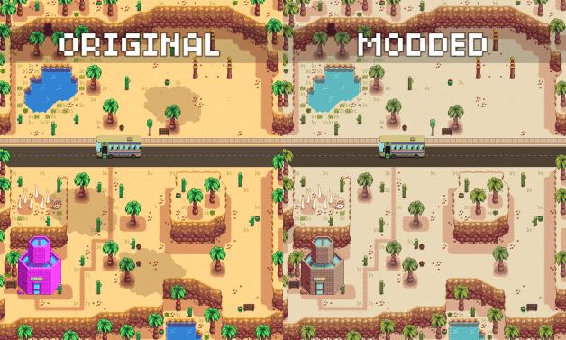 Desaturates The Beach And Desert Stardew Valley Fandom Games Game Design