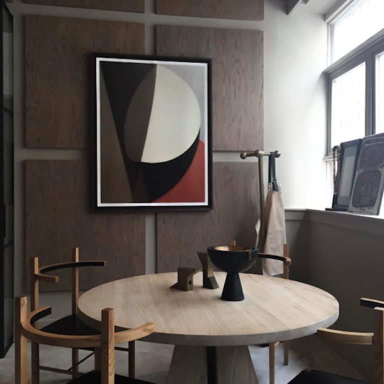 Apparatus Studiou0027s New York showroom Portal dining table