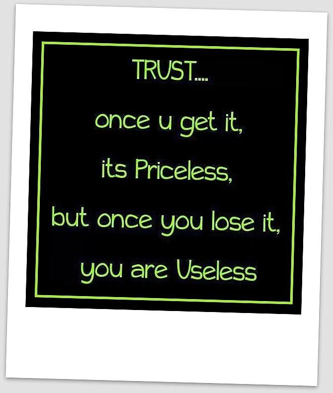 Pin on Trust Quotes