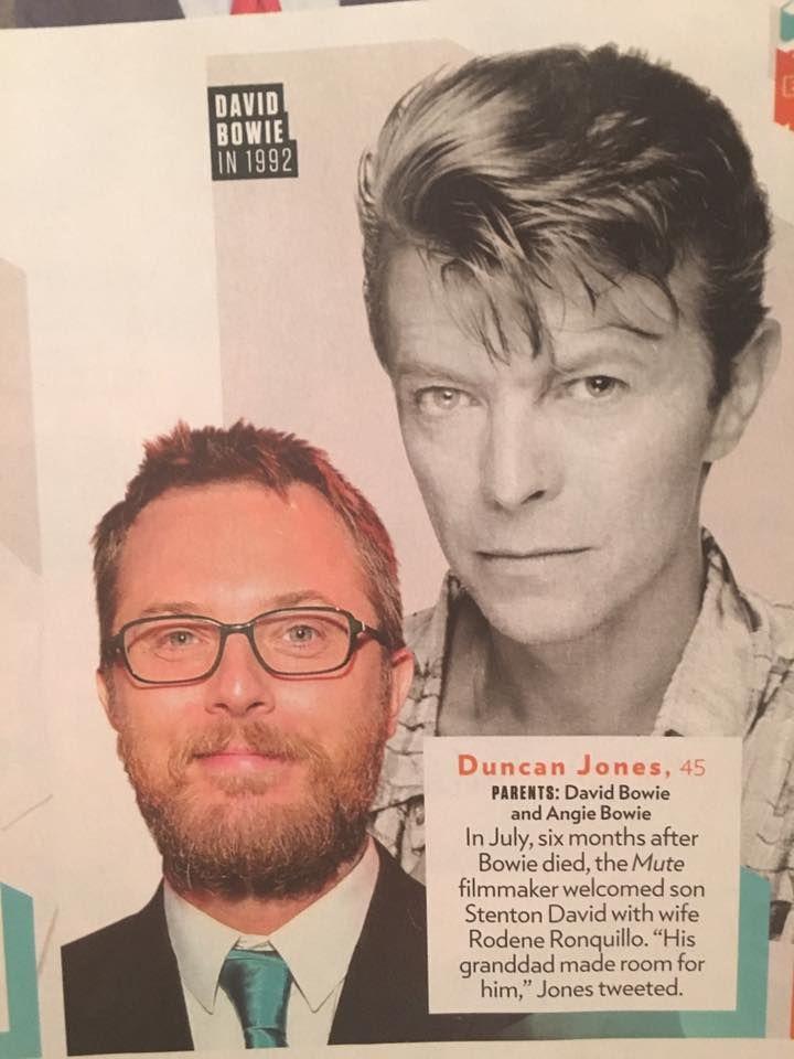 David Bowie son Duncan Jones finds The Snowman scarf