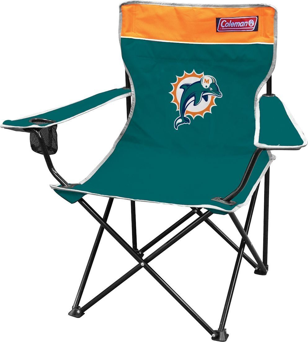 NFL Miami Dolphins Coleman Folding Chair With Carrying