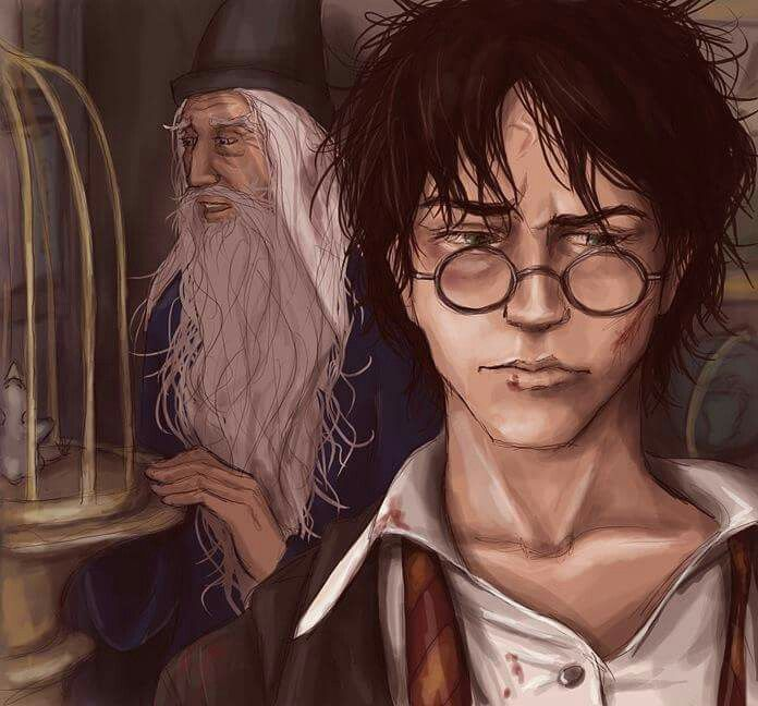 Harry Potter fanart This is amazing  It shows the resilience and