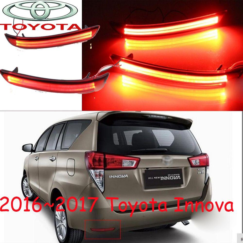 Innova Breaking Light 2015 2017 Free Ship Led Innova Rear Light Led Hilux Innova Taillight Innova Tail Lamp Corolla Prado Vigo Toyota Innova Car Car Lights