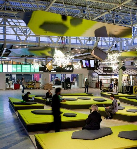 Wifi Lounge At 2011 Stockholm Furniture Fair Designed By Arik Levy Lounge Interior Design Booths Design Architecture
