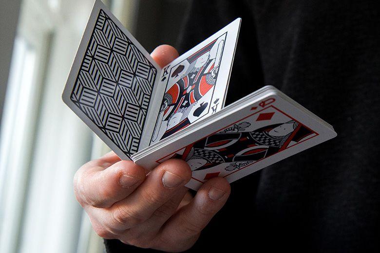 cardistry cubeline playing cardsbas john  cardistry