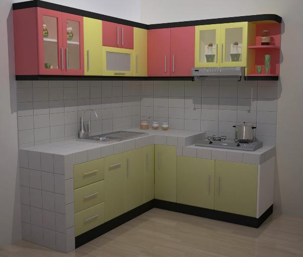 Inilah 8 Inspirasi Dapur Minimalis Berbentuk L Terbaik Home Ideas
