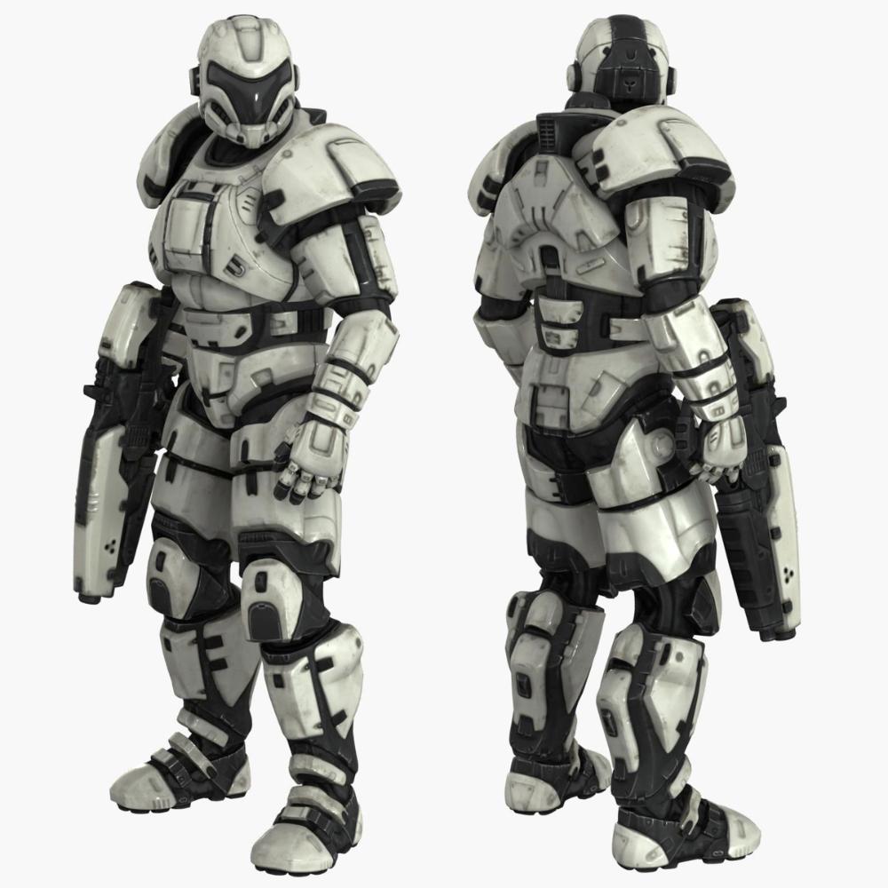 Character lite 3D - TurboSquid 1465351
