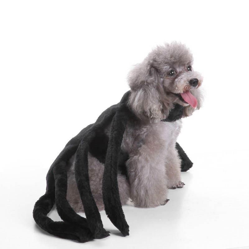 Halloween Pet Dog Costume Clothes Big Spider Costume Clothes For