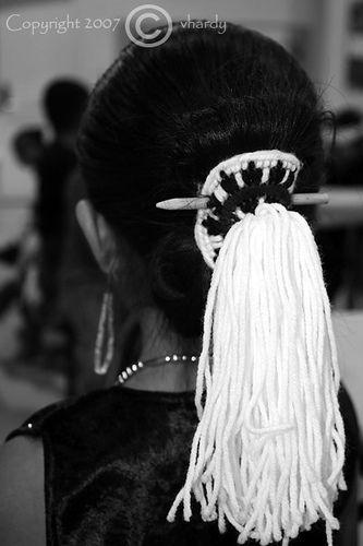 Tsi Yeelth Navajo Hair Tie Native American Indians American Indian History American Indians
