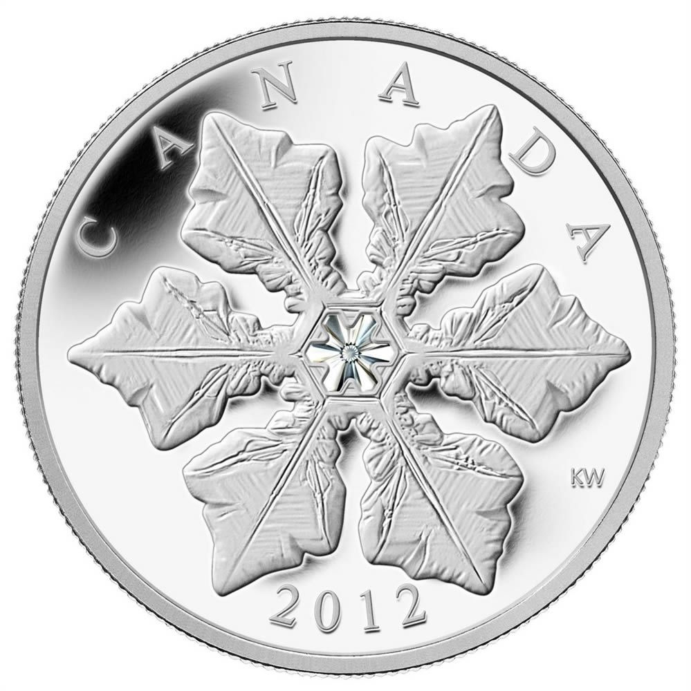 Canada 2012 Three Wise Men $20 Pure Silver /& Swarovski Crystal Proof Coin
