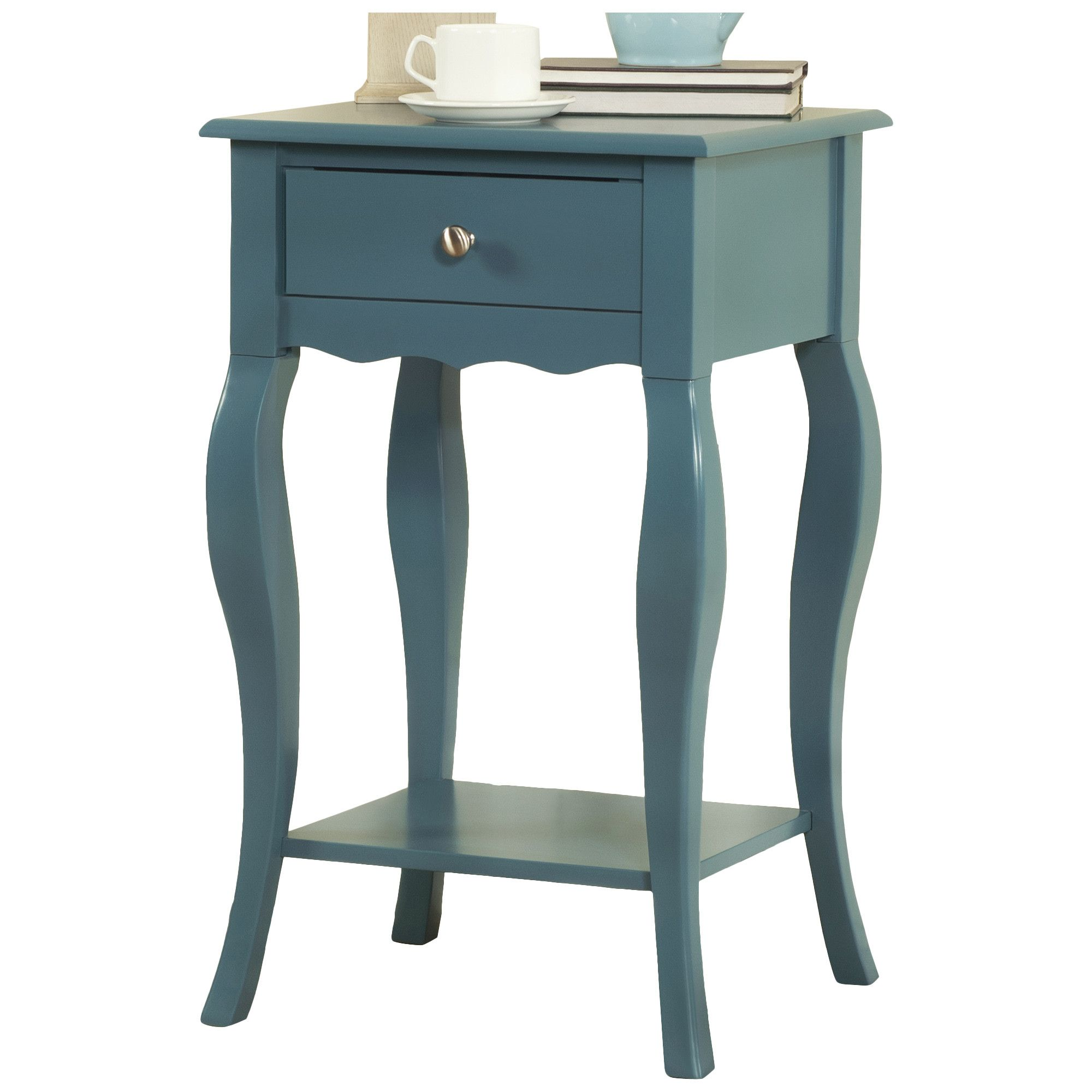 Kingstown Home Decatur 1 Drawer End Table & Reviews
