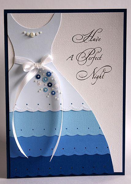 Blue Prom Dress ~ Gem's Cottage 2012 (See Digitals & Printables for dress template )