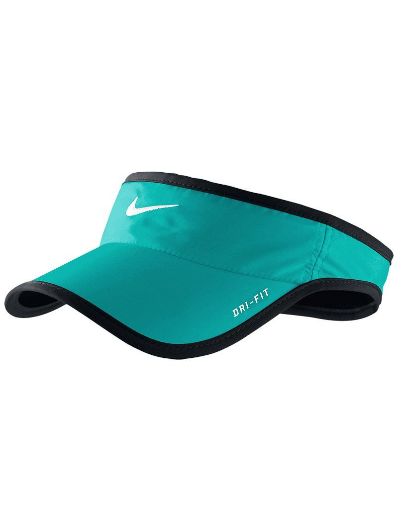 Amazon.com   Nike Adult Unisex Dri-FIT Feather Light Visor (Sport Turq)    Sports Fan Visors   Sports   Outdoors 9db311a4ae2