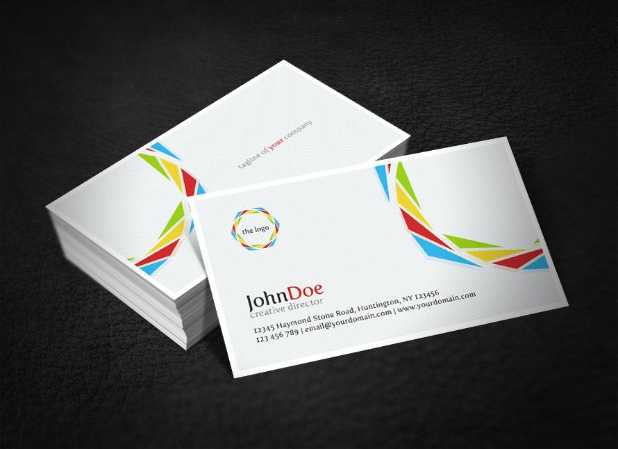 Clean Corporate Business Card By Glenngoh On Deviantart Http