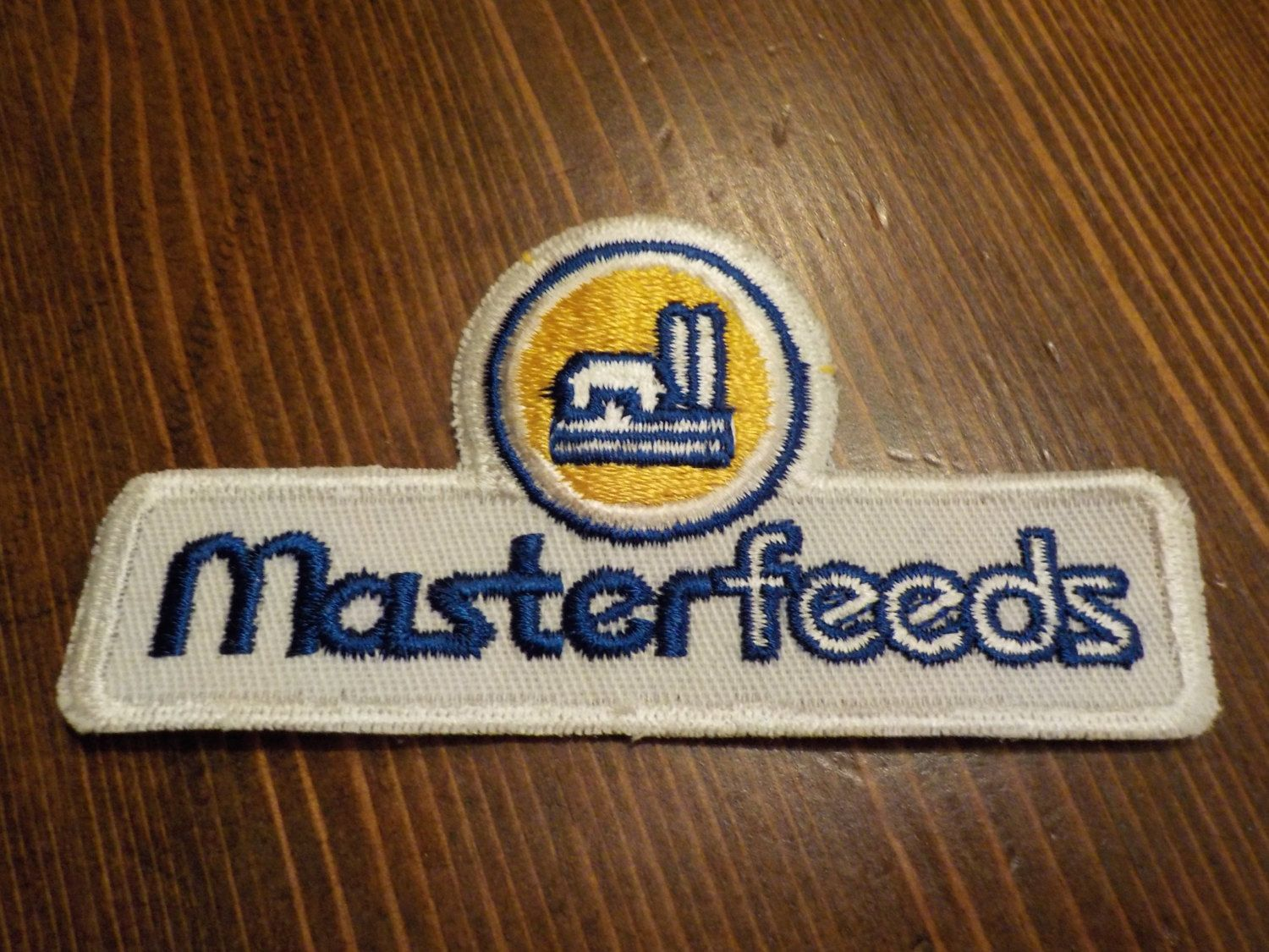 Master feeds patch applique crest by louisandrileys on etsy
