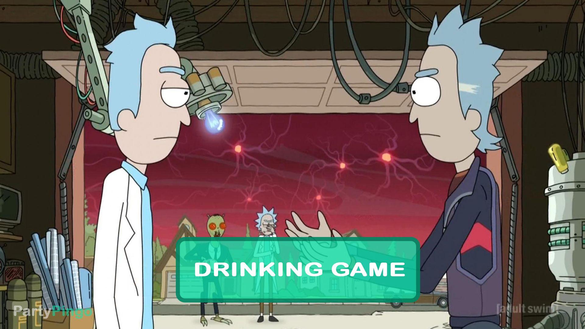 Rick And Morty The Rickshank Rickdemption Drinking Game Season 3 Episode 1 Drinking Games Rick And Morty Rick And Morty Season