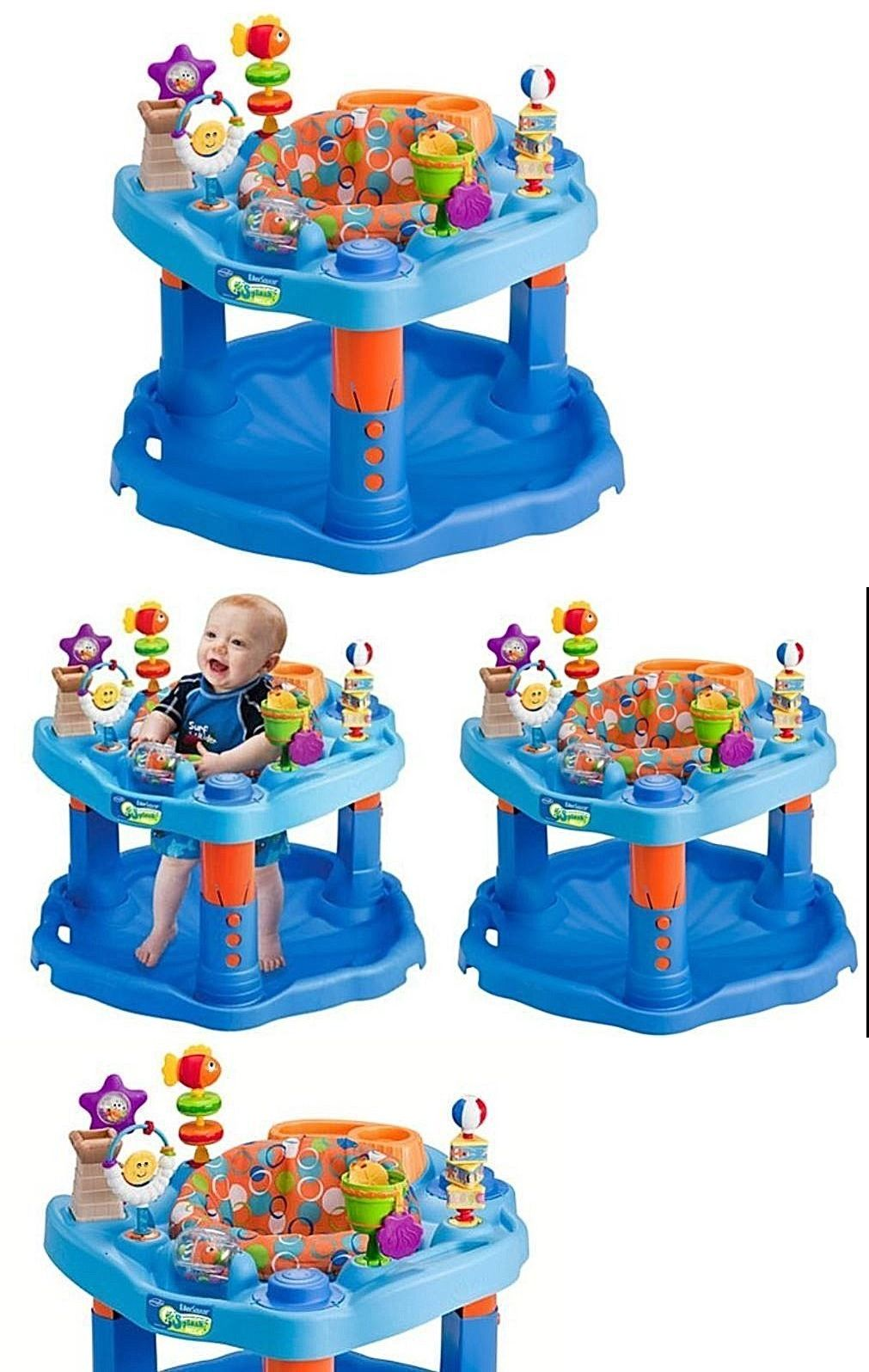 5b3733b59 Activity Centers 20413  Evenflo Baby Exersaucer Activity Center Toy ...