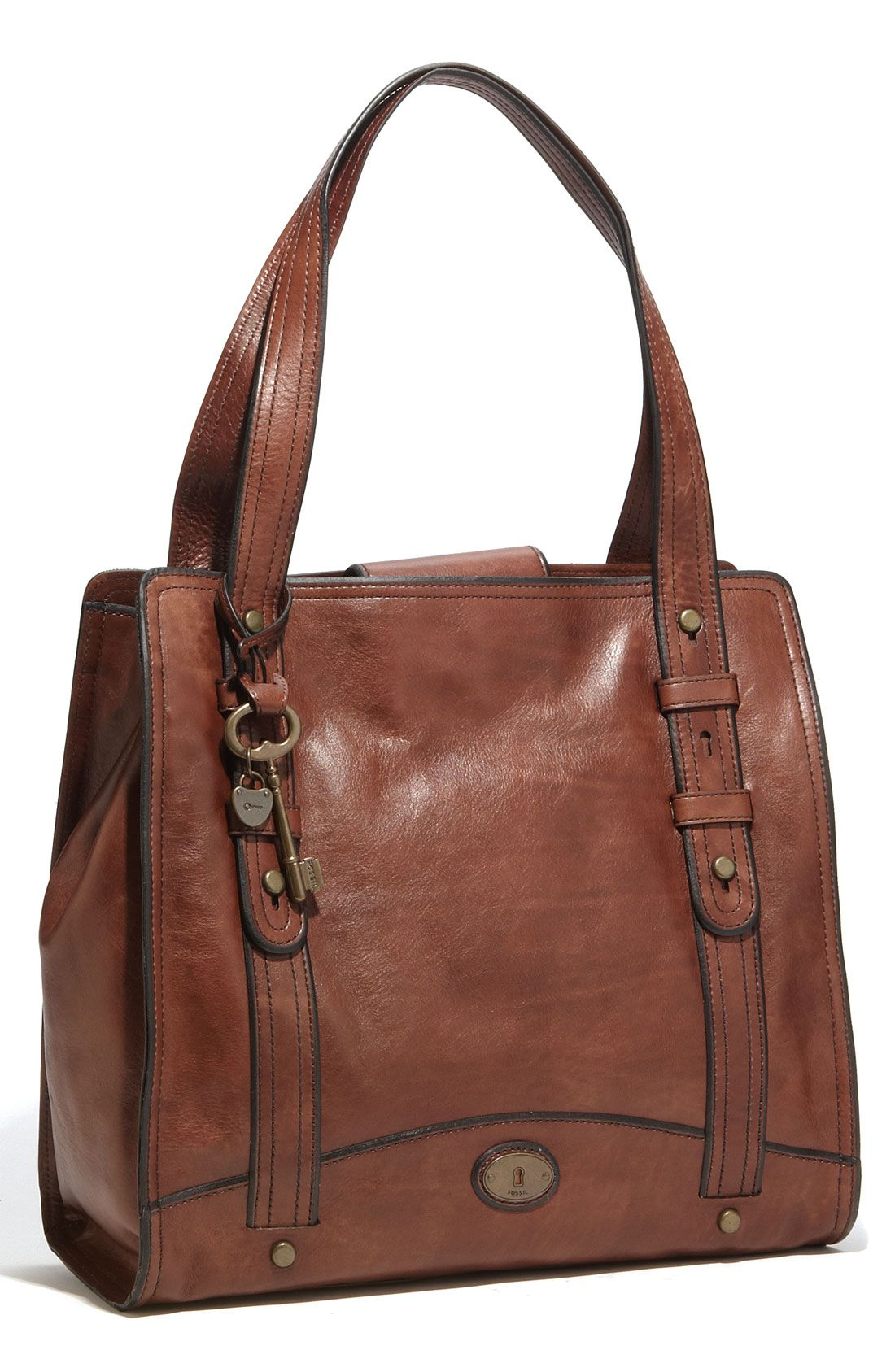 Fossil Vintage Reissue Work Tote In 2019 Leather
