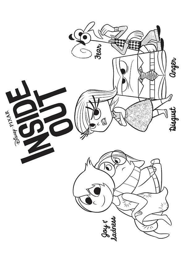 Print Coloring Image Momjunction Inside Out Coloring Pages Disney Coloring Pages Coloring Pages