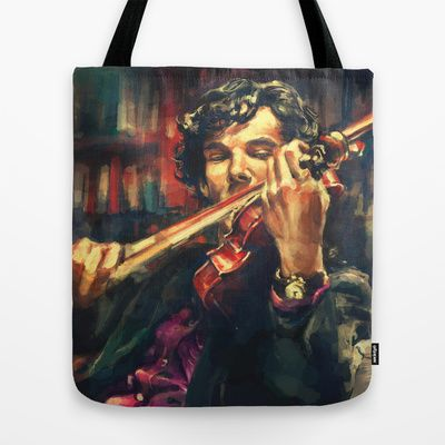Virtuoso Tote Bag by Alice X. Zhang - $22.00