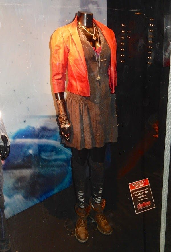 Elizabeth Olsen Scarlet Witch Costume Avengers Age Of Ultron Scarlet Witch Costume Scarlet Witch