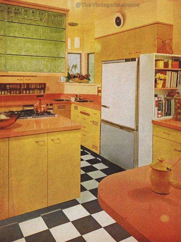 Mcm Kitchen Design 1964 Retro Bathrooms Retro Interior Retro Room