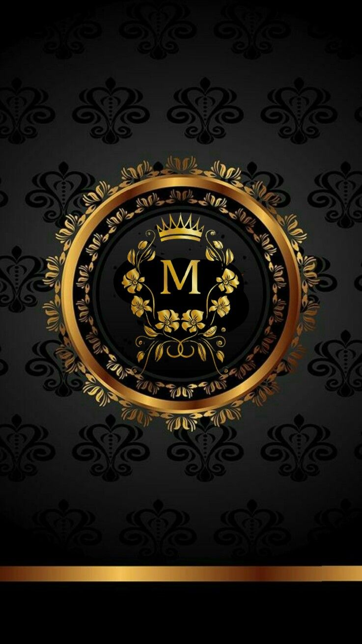 Black with Gold Wallpaper Phone Wallpaper Design, Monogram Wallpaper, Gold Wallpaper, Luxury Wallpaper