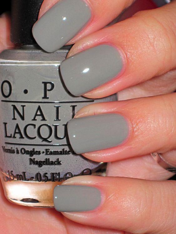 Opi Suzi Takes The Wheel Grey Nail Polish Trends