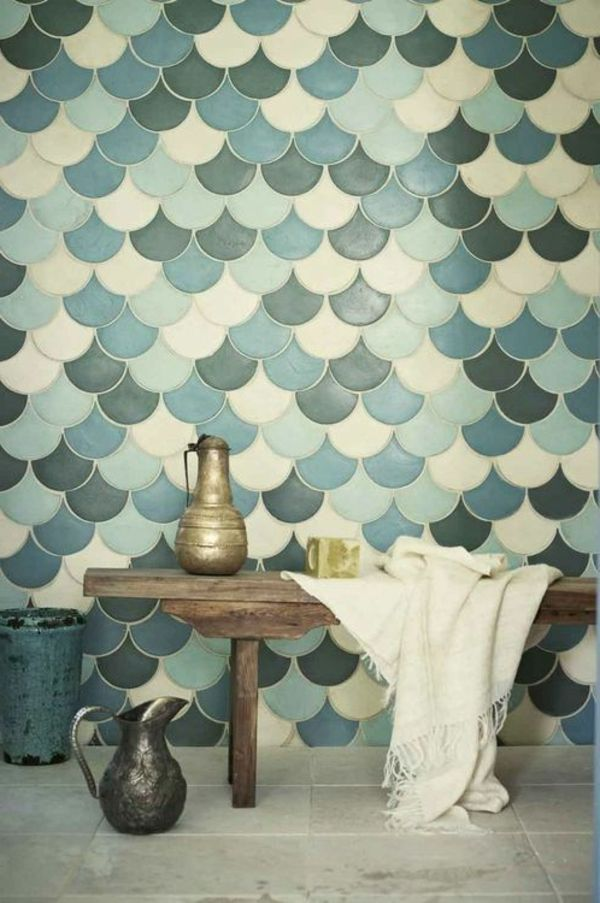 55 idées pour poser du carrelage mural chez soi | Carrelage salle de bain, Déco intérieure ...