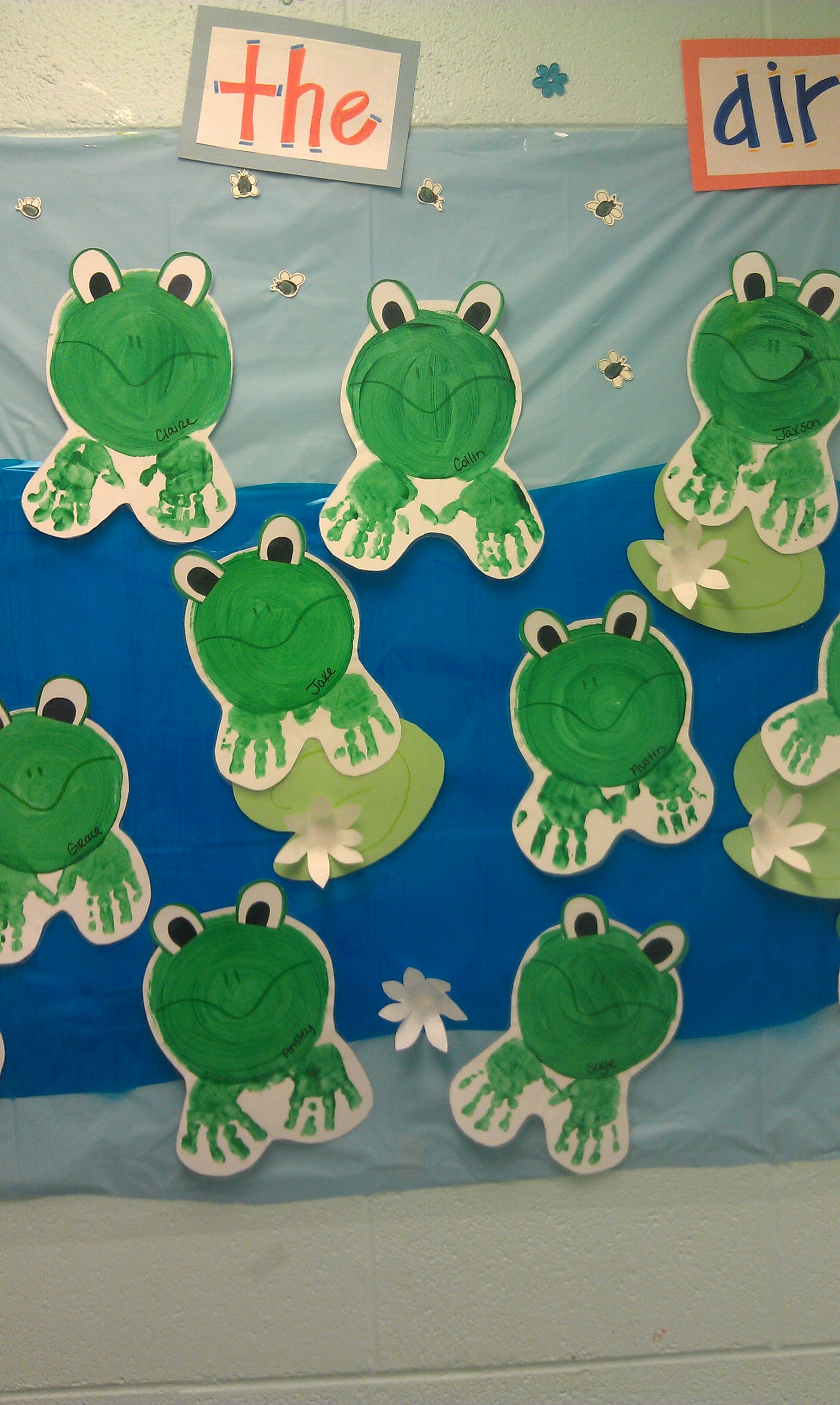 Class Room Bulletin Board Cute For The Spring