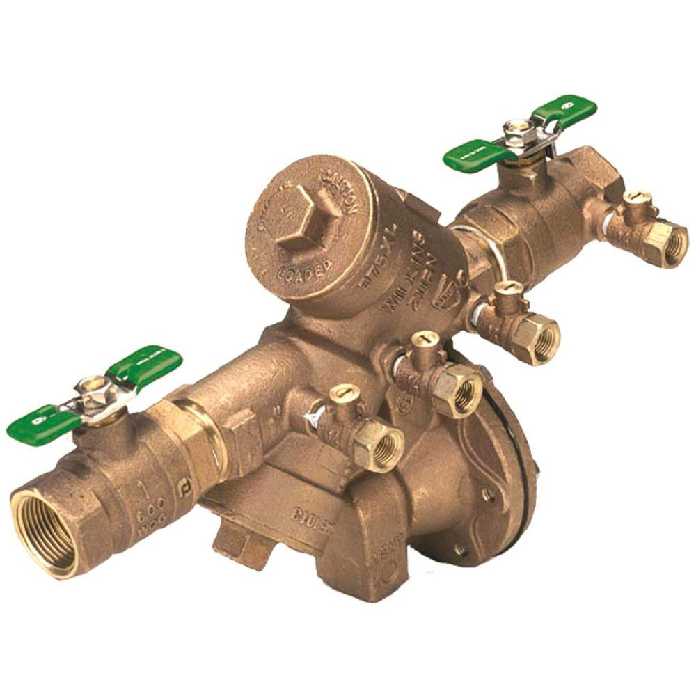 2 In Lead Free Reduced Pressure Principle Assembly Backflow Preventer Lead Free Valve Relief Valve