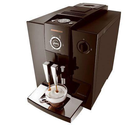 Jura Impressa F7 Automatic Coffee Center — QVC.com