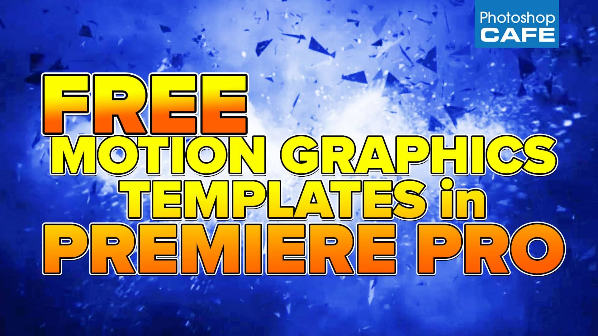 How To Use The New Motion Graphics Templates In Premiere Pro - Premiere pro motion graphics templates
