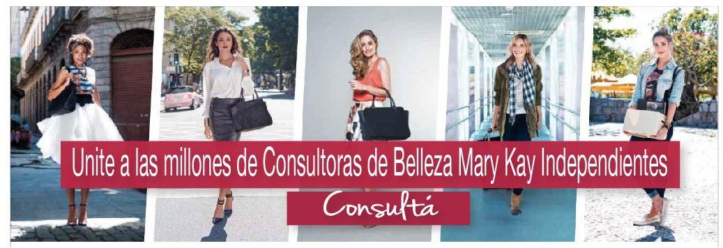 Unite a las millones de Consultoras de Belleza Mary Kay Independientes en todo el mundo, Se consultora de Mary Kay Argentina