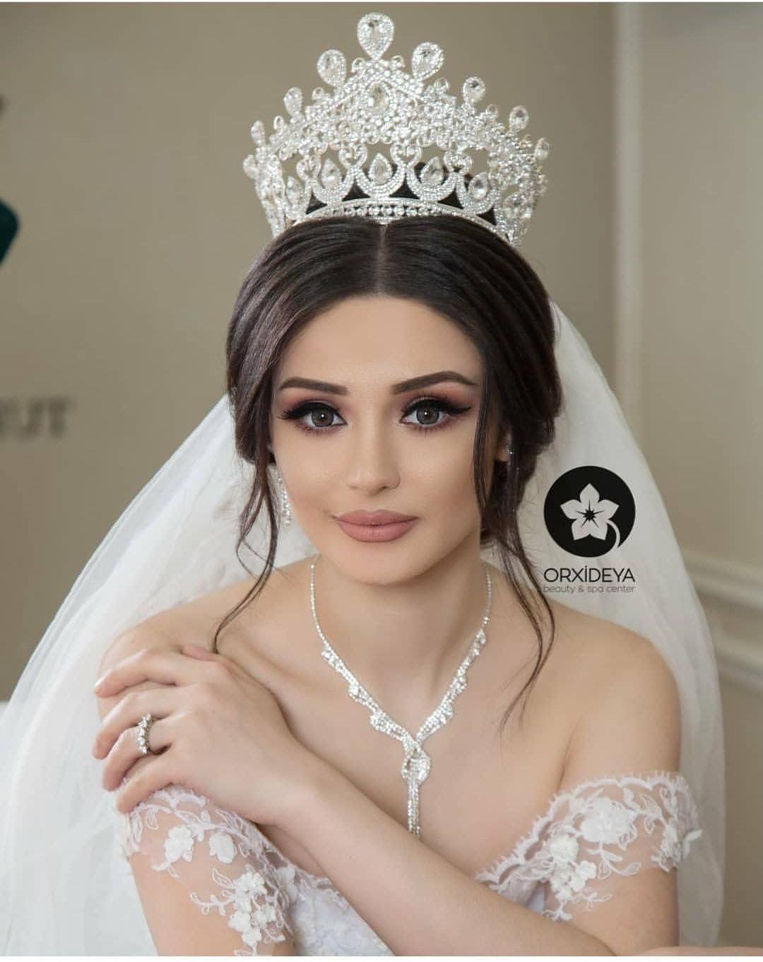 Pin By Siti Sopiah On Elegance Bridal Hair And Makeup Wedding Hair And Makeup Bridal Makeup